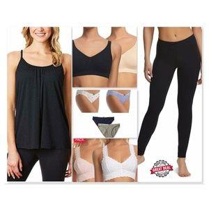 🌺Lot of 10 Panties, Bras, Tank Top &  Leggings, M